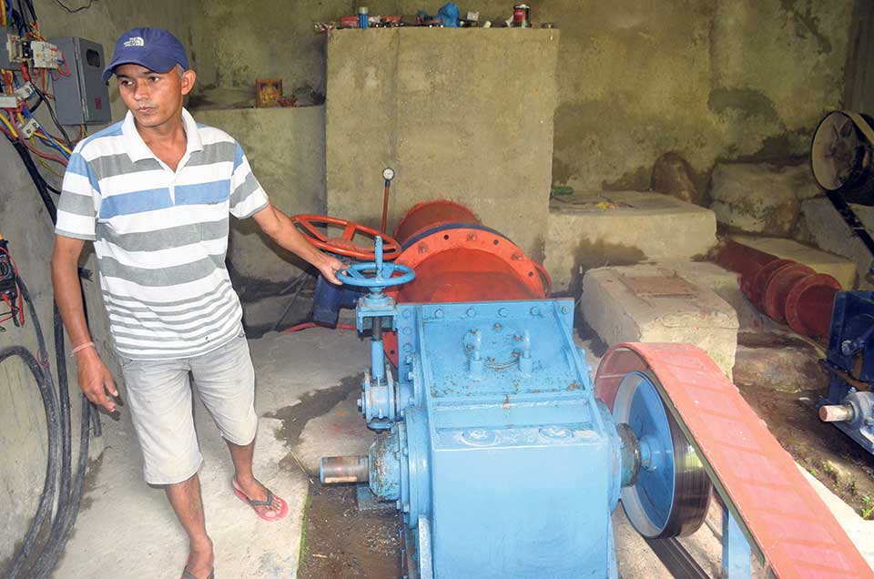 Micro hydro project earns Rs 70,000 a month