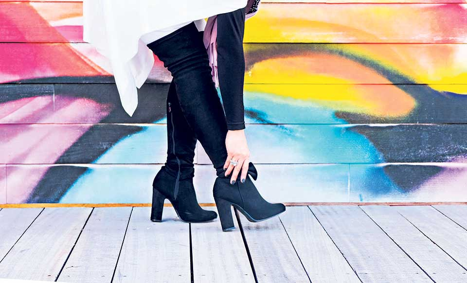 Fun with footwear: How to style boots