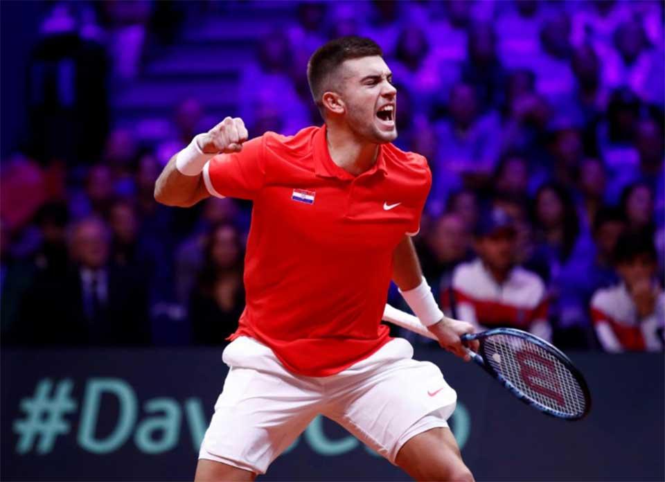 Coric, Cilic put Croatia in charge of Davis Cup final