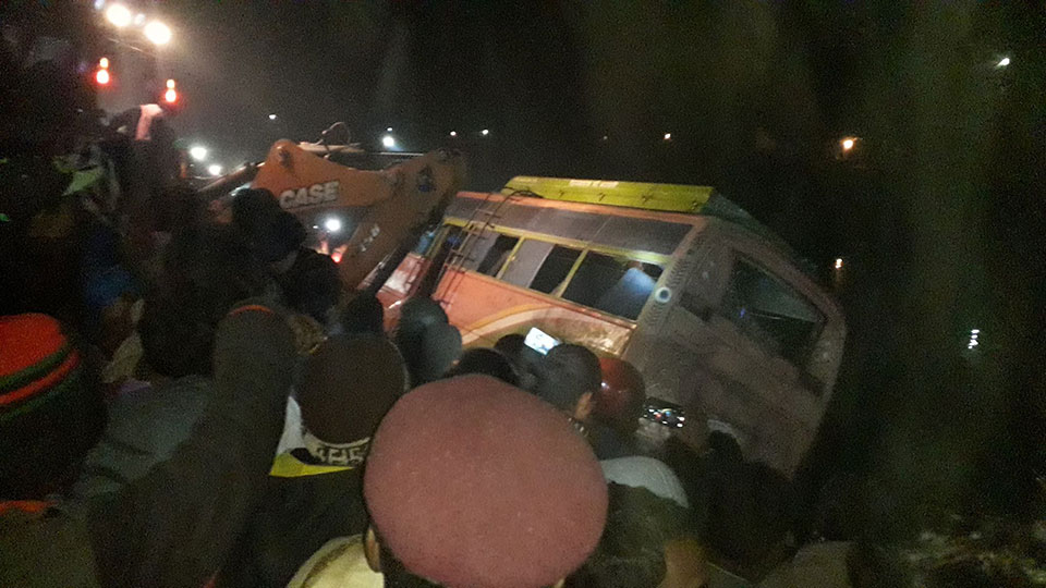 5 die in Saptari bus accident