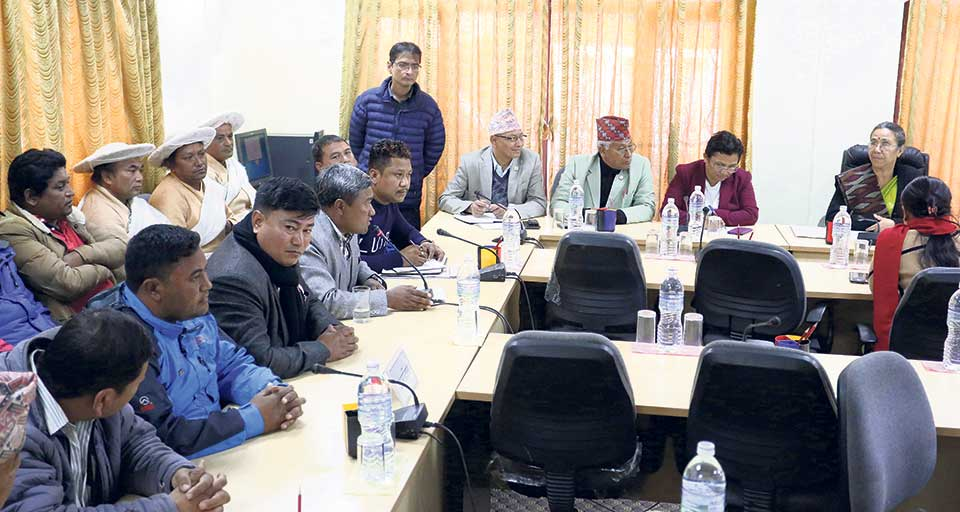 MPs for halting KTM-tarai fast track work until DPR is ready