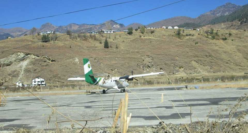Tara Air's plane flies to Kathmandu after fixation from June 9 accident