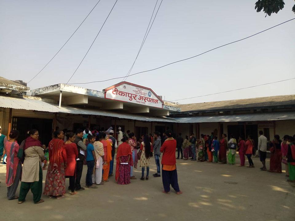 Neonatal ICU at Tikapur Hospital relief for locals