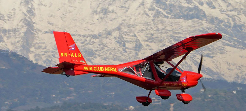 Ultralight resumes in Pokhara after eight months