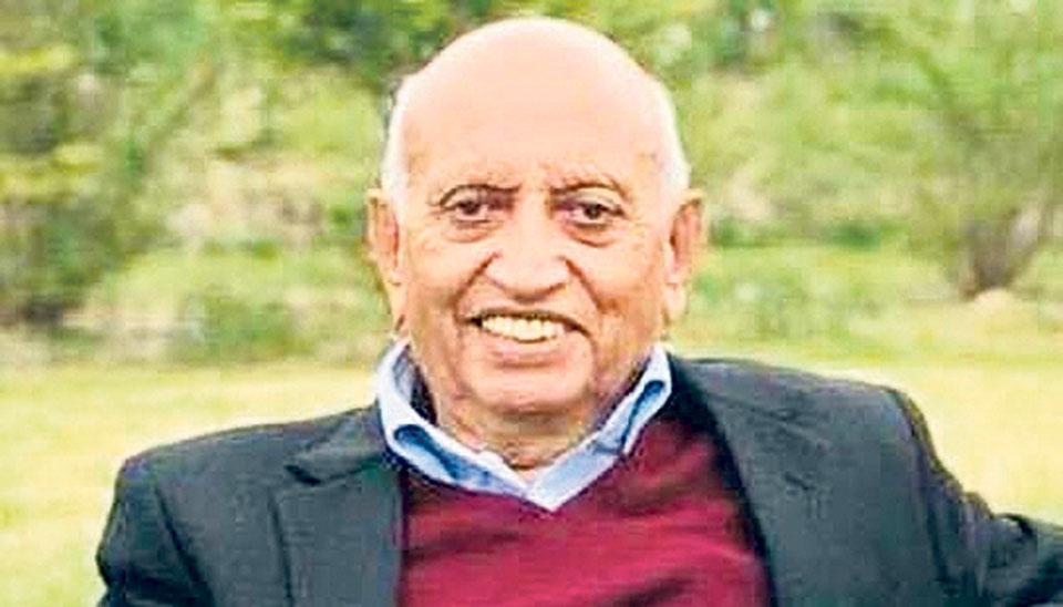 NRNAPresident Bhattabereaved