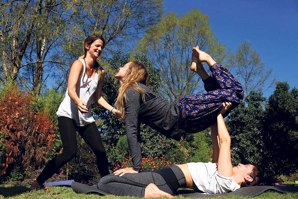 In a quest for yoga-land