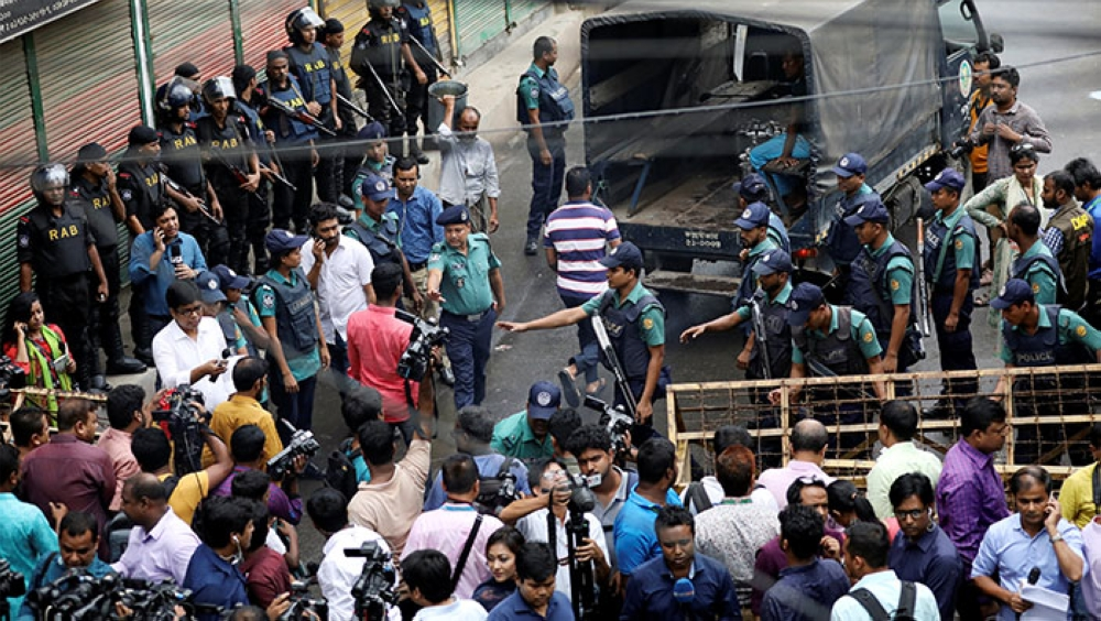 Bangladesh court hands life sentence to acting opposition party chief over 2004 blasts