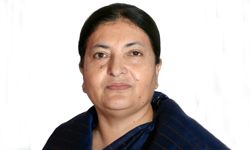 Prez Bhandari to visit Poland to address climate change conference