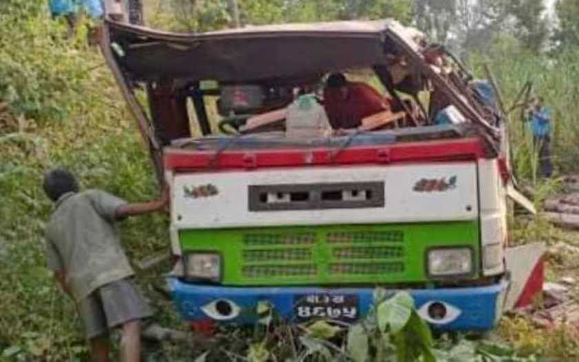 One die, 29 injured in bus accident in Ramechhap