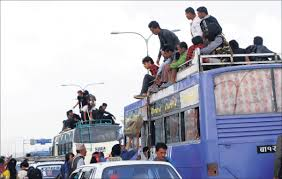 Over 700,000 bus tickets booked for Dashain