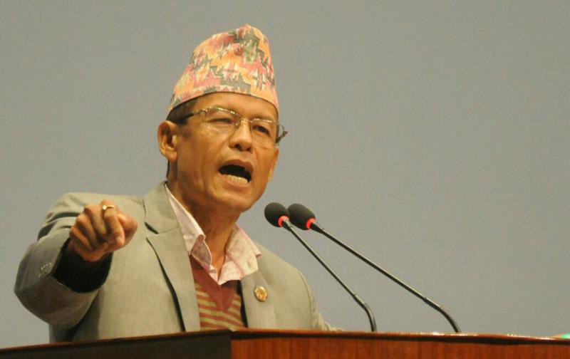PM Oli following in Lalu Yadav's footsteps: Gurung