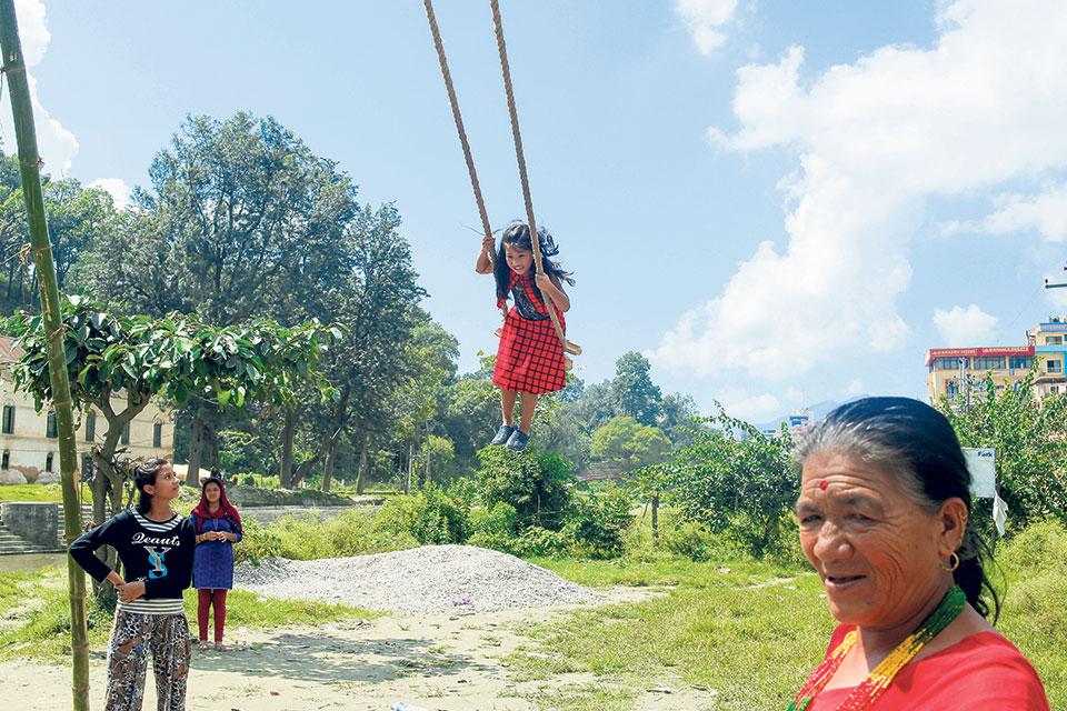 Dashain for children