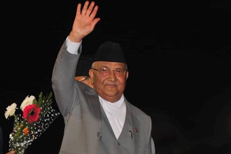 PM Oli returns home attending UNGA