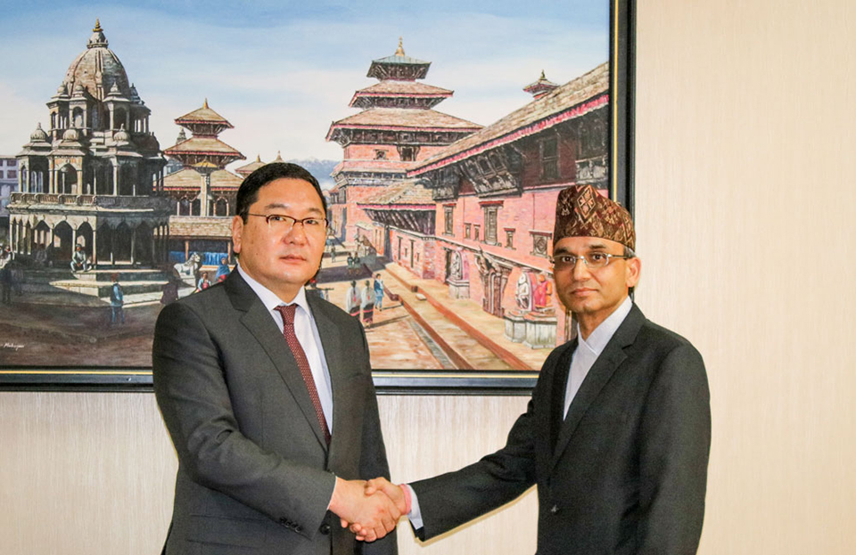 Nepal, Mongolia hold first ever bilateral consultation meeting