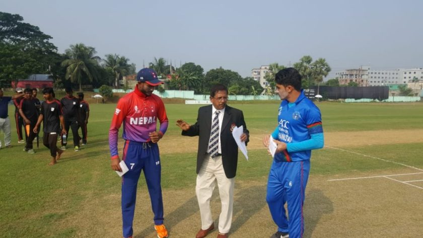 U-19 Asia Cup: Nepal sets target of 132 runs for Afghanistan to chase
