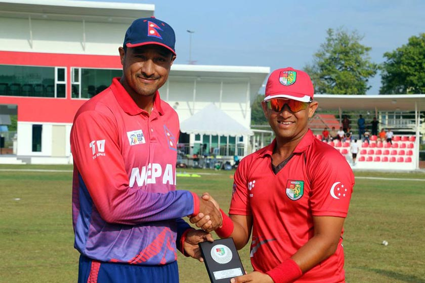 Nepal receives 82 runs target