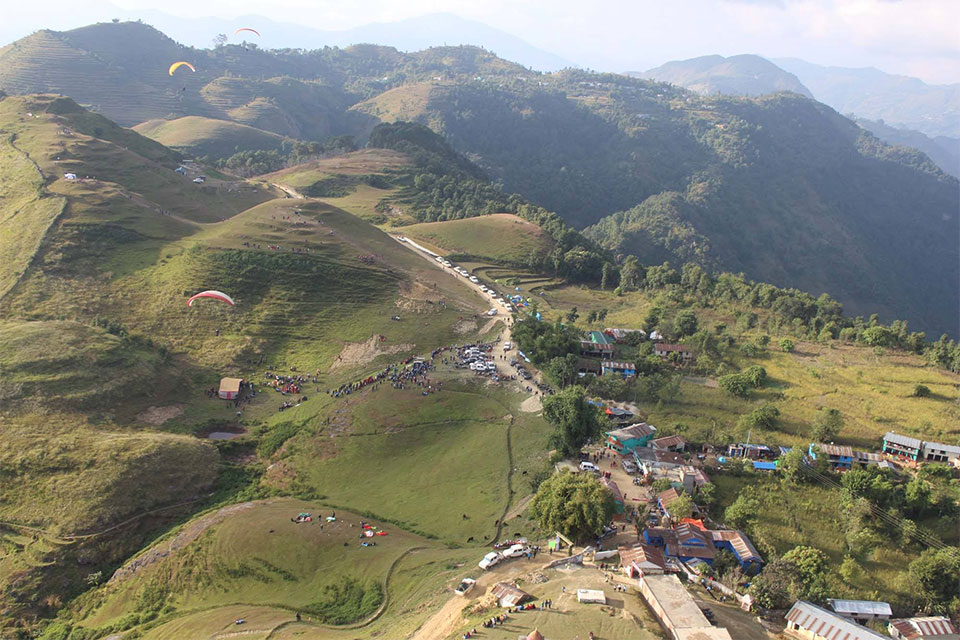 First Nepal Paragliding World Cup-2018 to be held on Nov 1-4