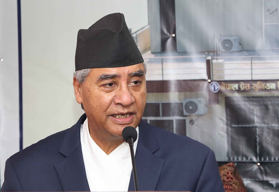 Rights yet to be implemented: NC President Deuba
