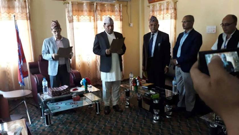 Sudurpashchim Province's govt inducts Rawal as state minister