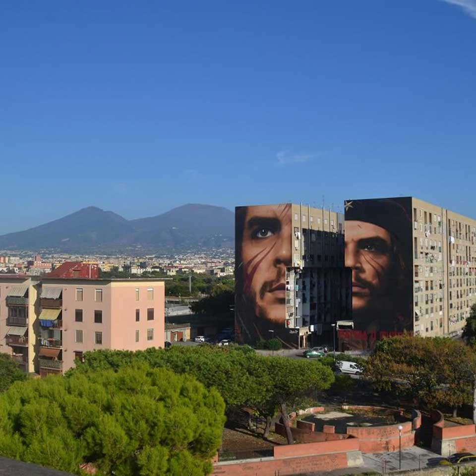 Jorit, the artist behind Che Guevara, Ahed Tamimi Mural: 'Graffiti is the Voice of Protest'