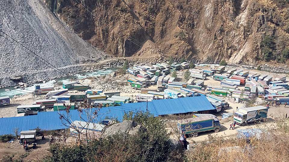 Construction of dry port in Rasuwagadhi yet to begin