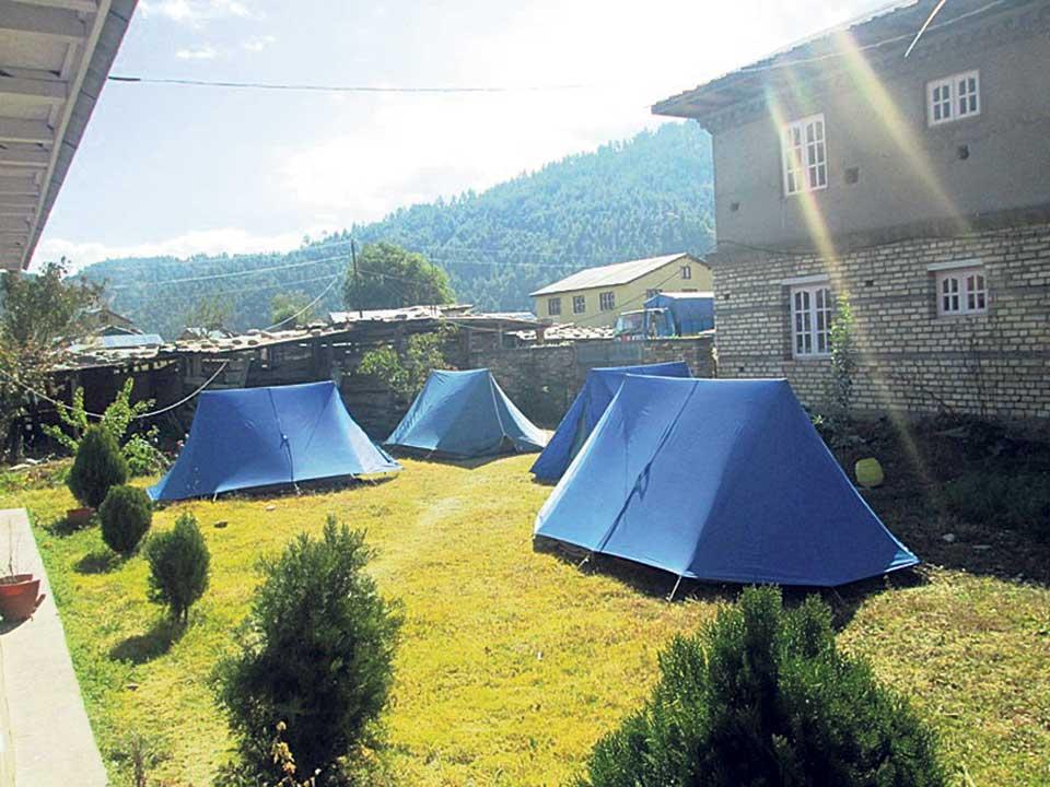 Domestic tourists increase in Jumla