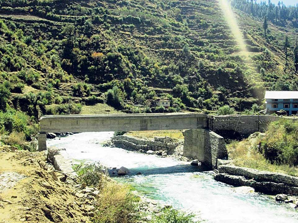 Jumla roads useless without bridges