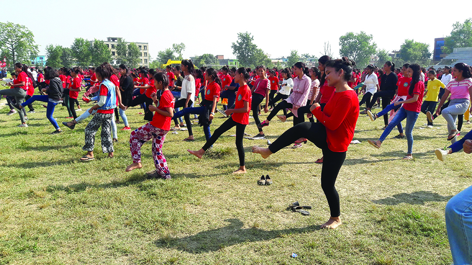 With increase in VAW, over 1,700 females in self-defense training