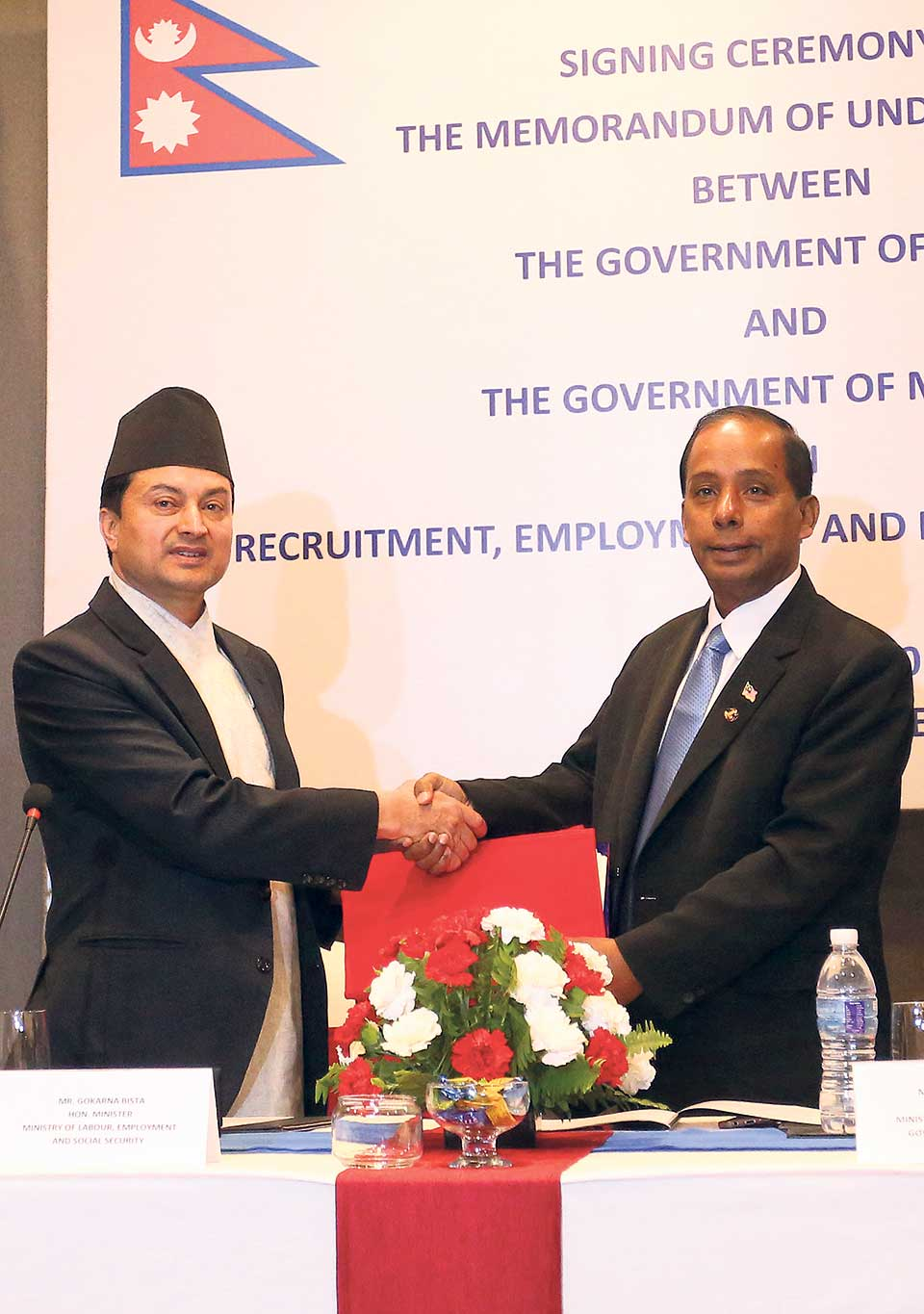 MoU paves way for resumption of hiring of Nepali workers by Malaysia