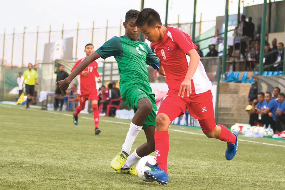 Nepal starts SAFF U-15 C'ship with big win over Maldives
