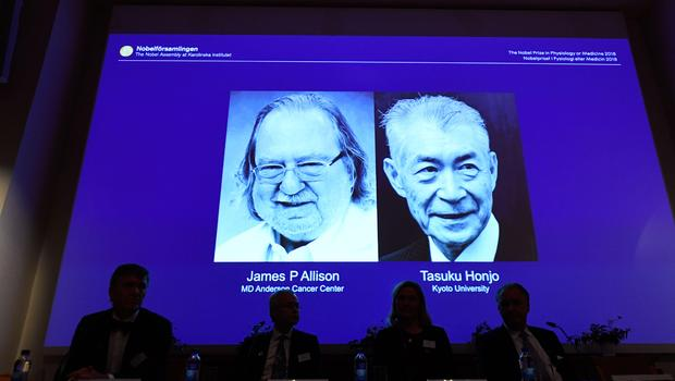 Landmark cancer therapy wins Nobel prize