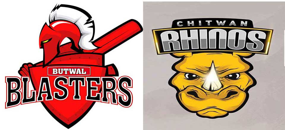 Butwal Blasters have set the target of 136 runs to Chitwan Rhinos