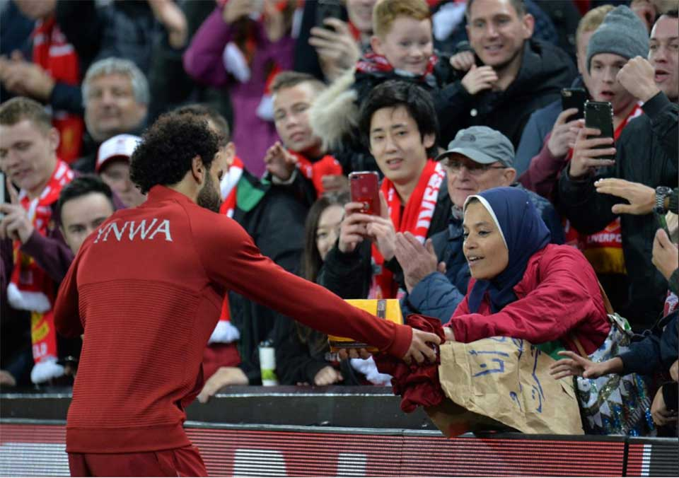 Record-breaking Salah puts doubts to rest, Shaqiri shines