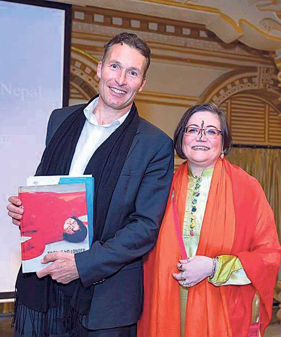 'Silence No Longer: Artivism of Ashmina' launched