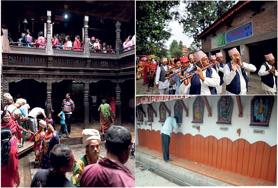 Traditional music adding flavor to Dashain