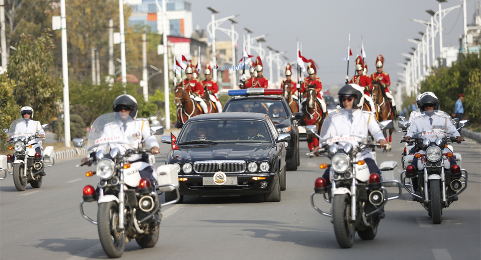 Riders bulldoze VIP motorcade halt for the first time ever
