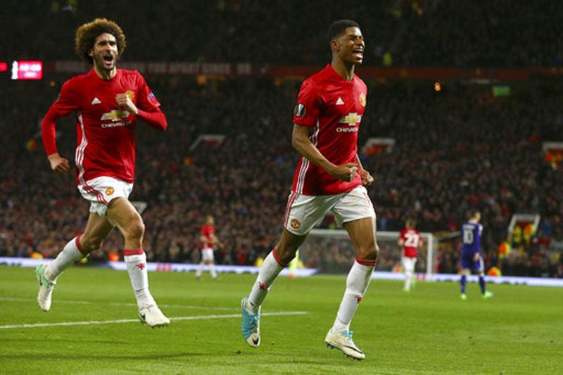 Rashford steers Man United into Europa League semifinals