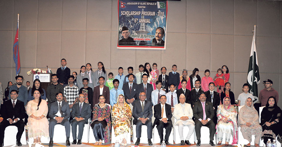Embassy of Pakistan gives scholarships to 250 Nepali students