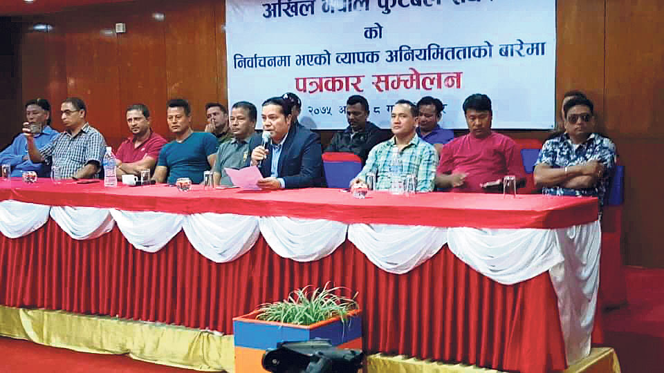 Kunwar accuses ANFA president Sherpa of manipulating elections