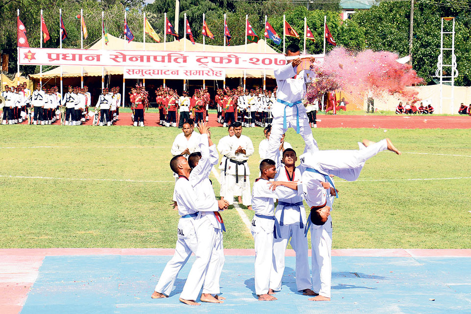 Chief of Army Staff sports championship kicks off