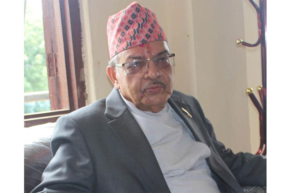Justice Deepak Raj Joshee resumes office