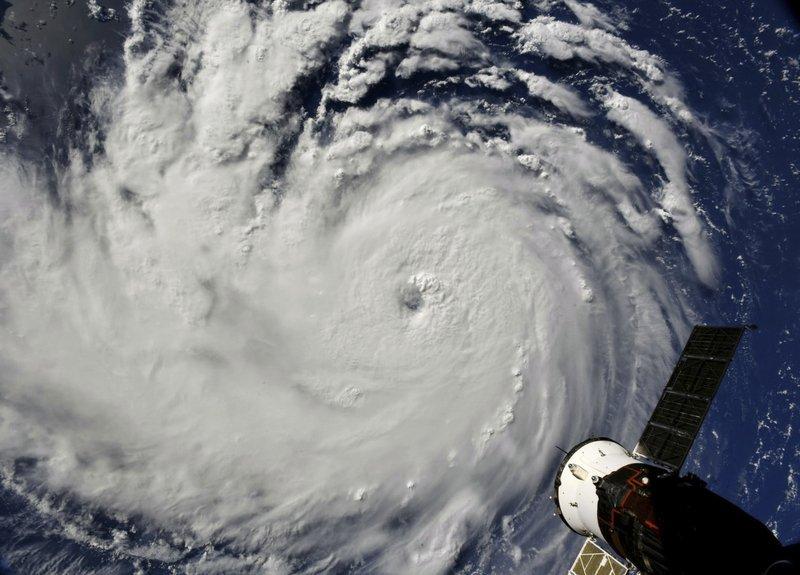 Hurricane Florence nears Carolinas as 1 million-plus ordered to evacuate