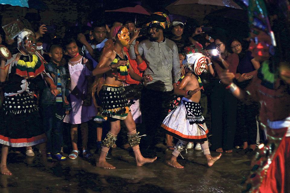 Indrajatra, an extraordinary fiesta