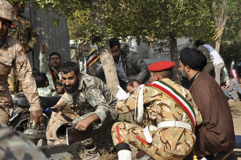 UPDATE: Gunmen attack Iran military parade, killing at least 24