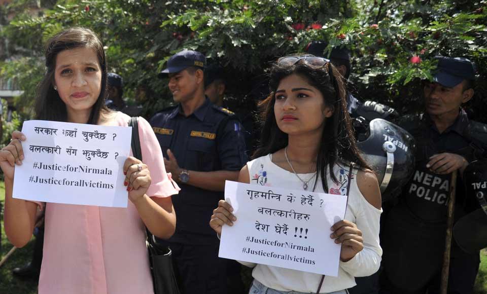 Protesters demand publicizing probe report