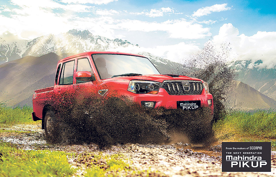 Next Generation Mahindra Pik Up launched in Nepal market