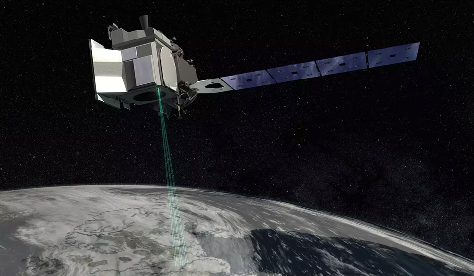 Nasa launches satellite to track melting ice caps and predict changes to sea levels
