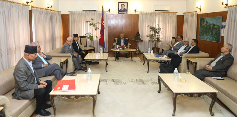 NCP finalizes in-charge, deputy in-charge, chairperson,secretary of all provinces