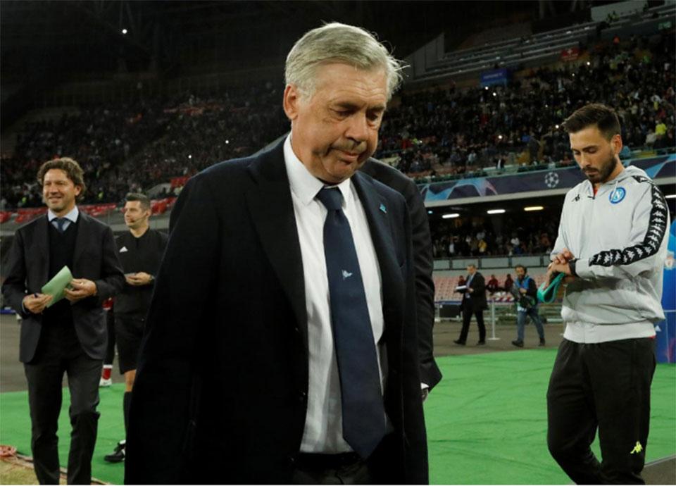 Ancelotti happy Napoli left it late against Liverpool