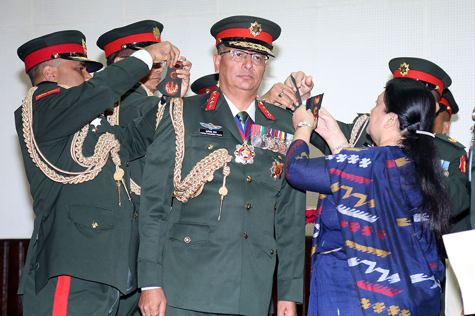 Gen Thapa appointed as new army chief
